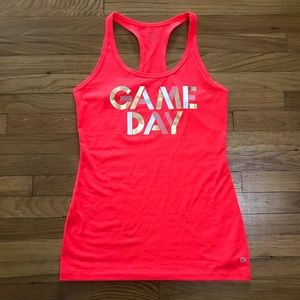 """GAP Fit """"Game Day"""" Cool Dry Racerback Tank Top"""